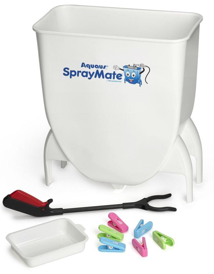 cloth diaper sprayer splatter shield, bedpan, potty bowl cleaning, rinsing undergarments, Diaper Sprayer, Bedpan Sprayer, Adult & Baby Potty Bowl Sprayer, spray sheild, splatter shield