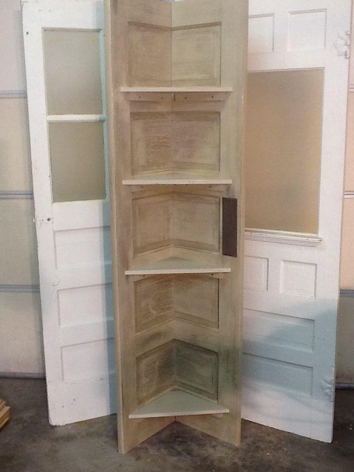 shelves old door 3