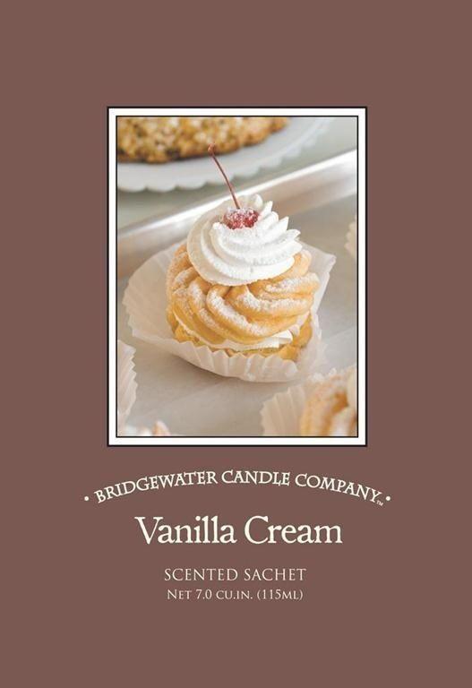 Bridgewater Candle Geurzakje Vanilla Cream