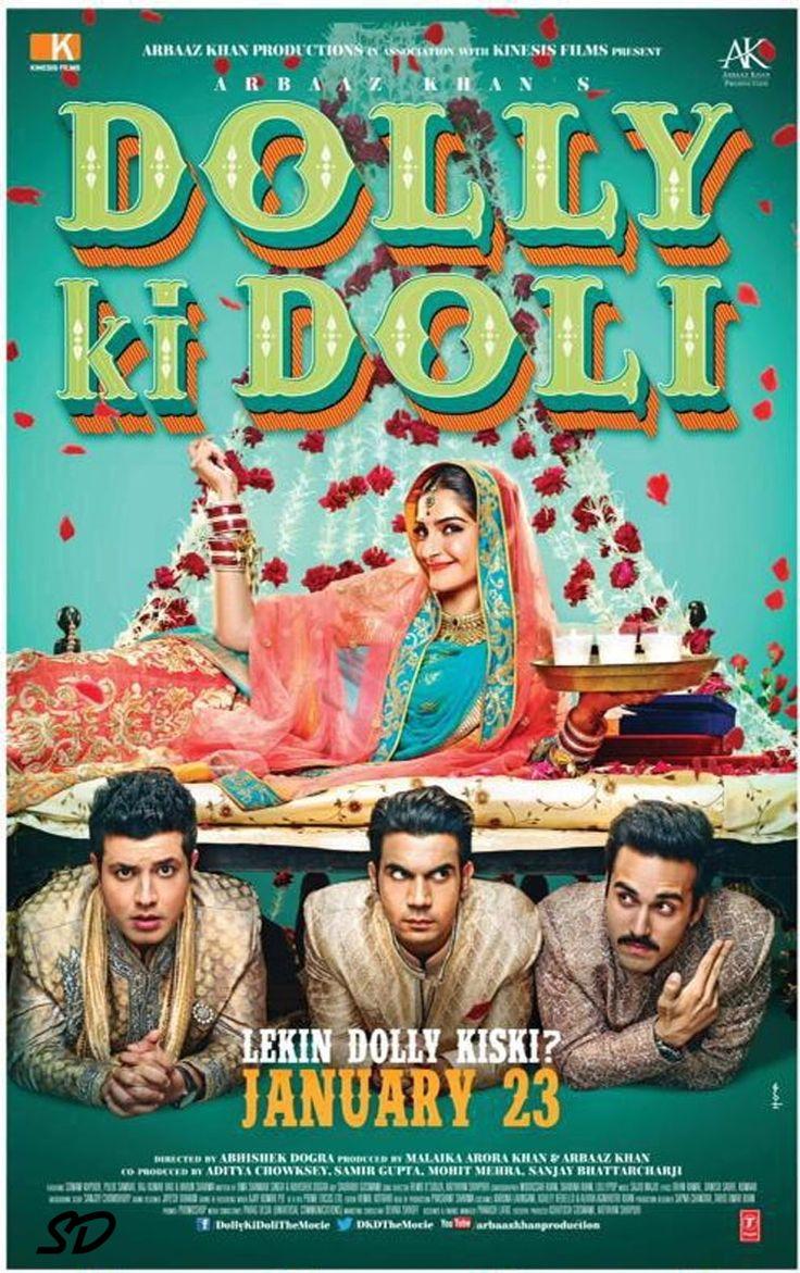 Dolly Ki Doli #Cinema Released on 23-Jan-2015 Genres: #Comedy, #Romance Lead Actors: Sonam Kapoor, Malaika Arora, Mohammed Zeeshan Ayyub Director: Abhishek Dogra