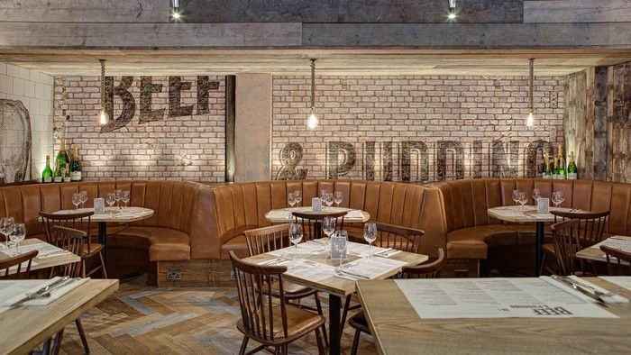 Beef & Pudding (Manchester), Standalone Restaurant   Restaurant & Bar Design Awards