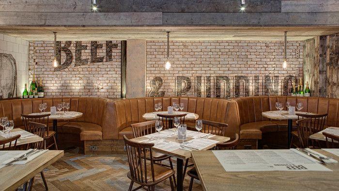 Beef & Pudding (Manchester), Standalone Restaurant | Restaurant & Bar Design Awards