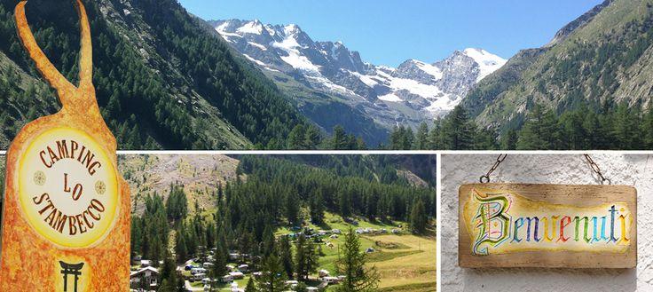 Campeggio lo Stambecco ** Cogne, Valnontey – Gran Paradiso – Valle d'Aosta