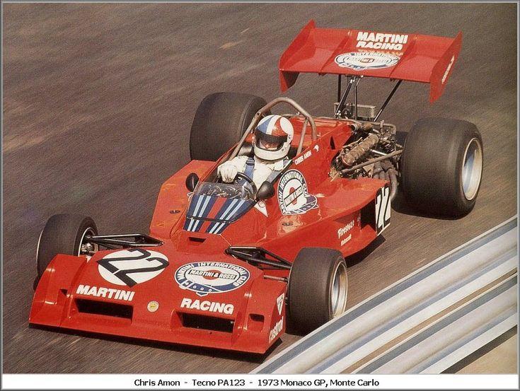 1973 GP Monaco (Chris Amon) Tecno PA123/3
