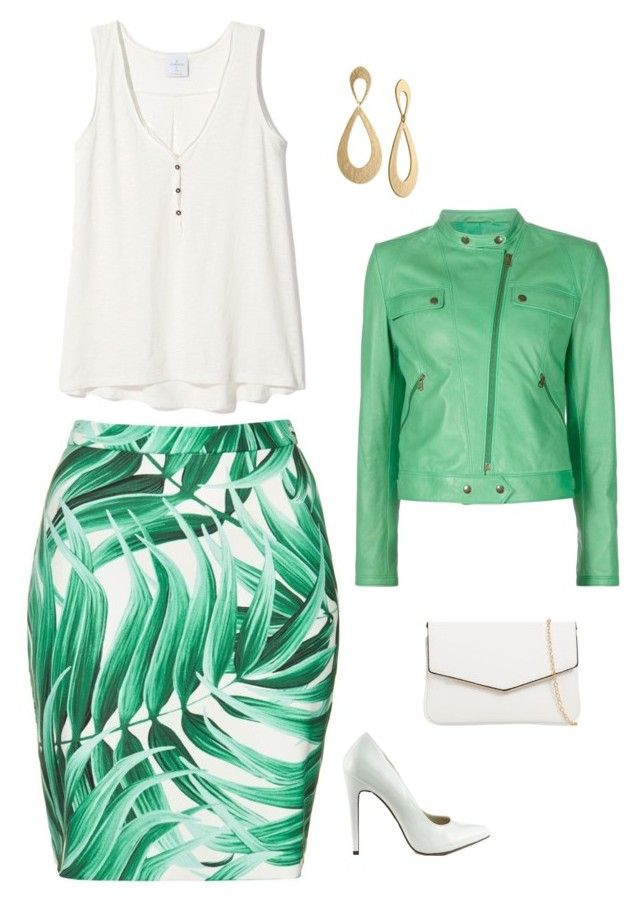"""""""Untitled #1838"""" by netteskytte on Polyvore featuring Michael Antonio, KoKo Couture, Rachel Rachel Roy and Tomas Maier"""