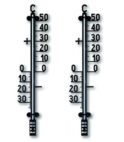 Amazing Set Of 2 TFA Outdoor Garden Thermometers