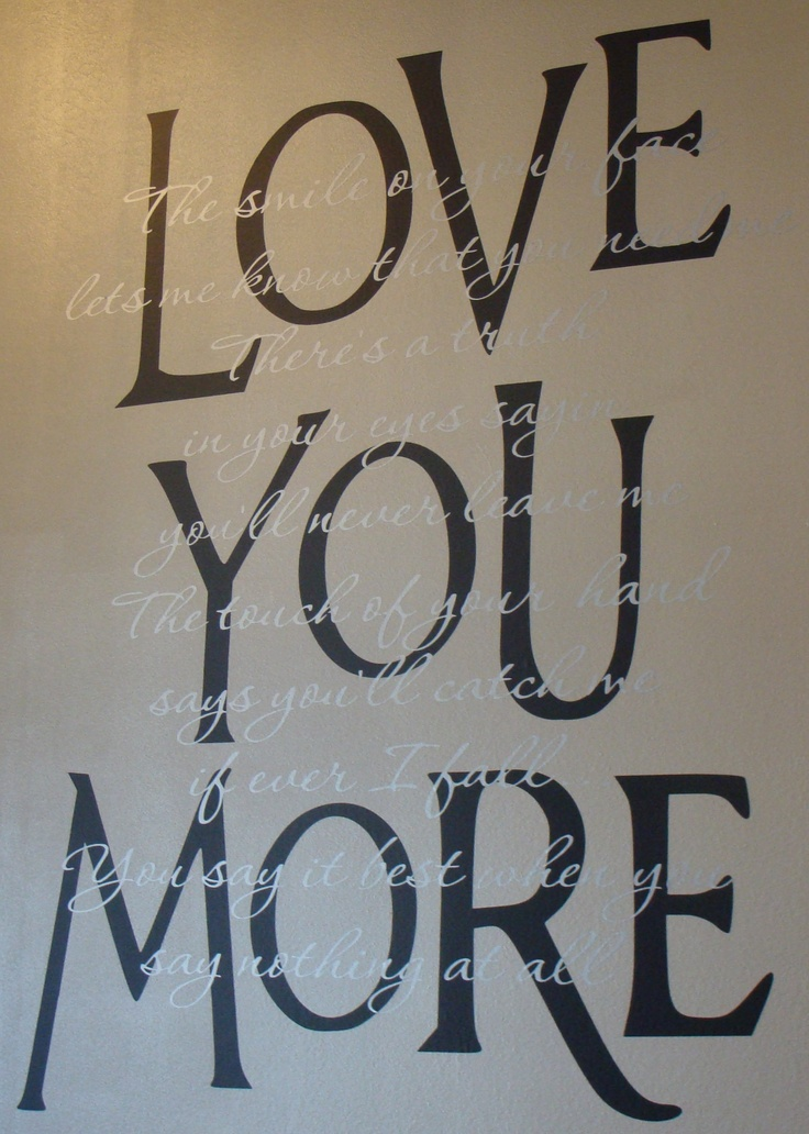 Love You More Wall Art 147 best love ♥ images on pinterest | boyfriends, gifts and
