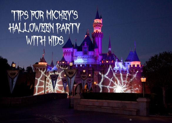 Tips for Attending Mickey's Halloween Party with Kids at Disneyland