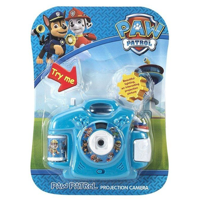 Paw Patrol Dog Toy Childrens Toy Cartoon Projection Camera Baby