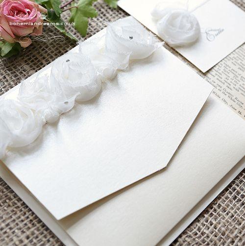 Pure love wedding invitation www.bohemiandreams.co.uk