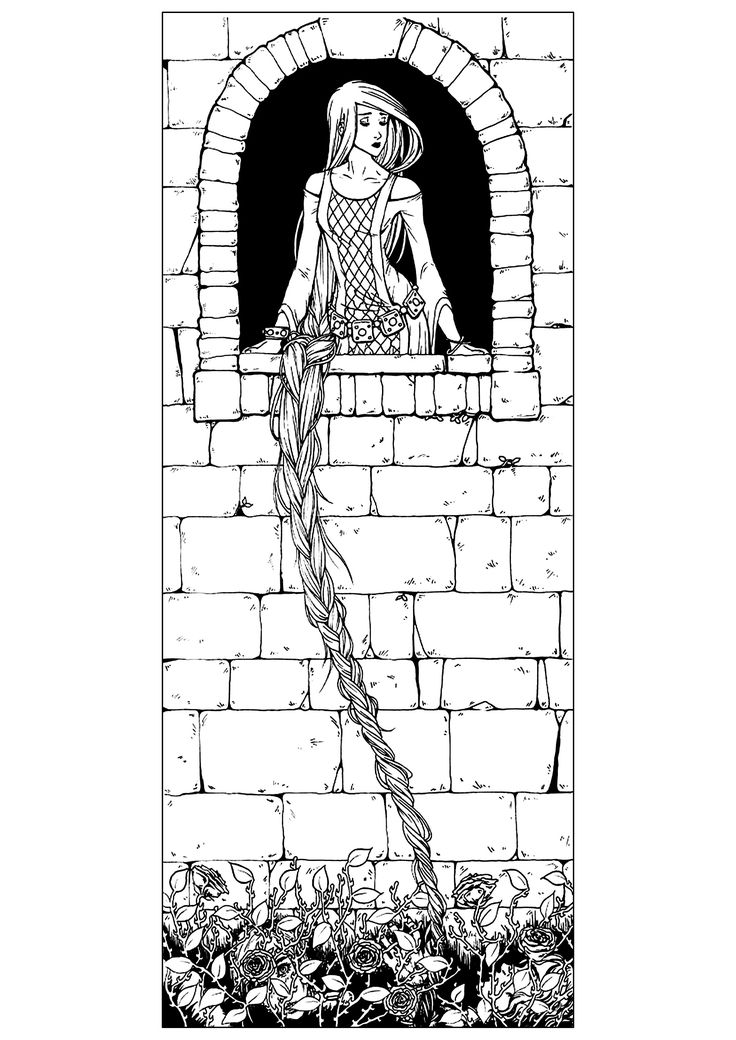 16 best Fairy Tales coloring pages images on Pinterest | Fairy tales ...