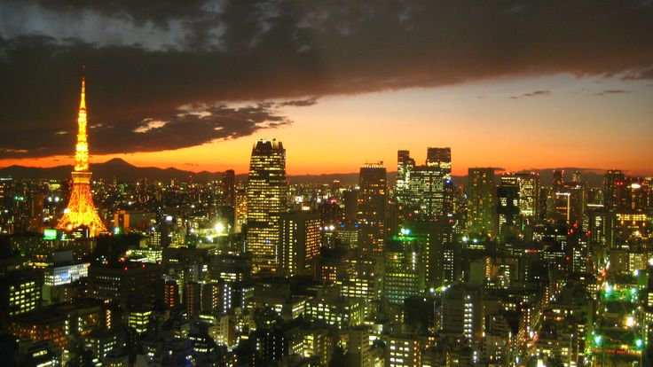 Tokyo, one of the most exciting cities in the world. East meets West, old culture combines with the new.