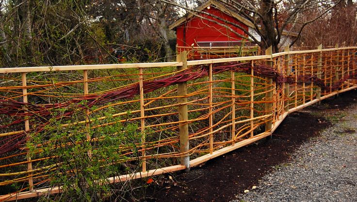 Willow Fence - Garden Stories