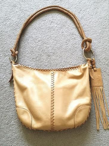Ralph Lauren Native Fringe woven genuine leather boho 386$