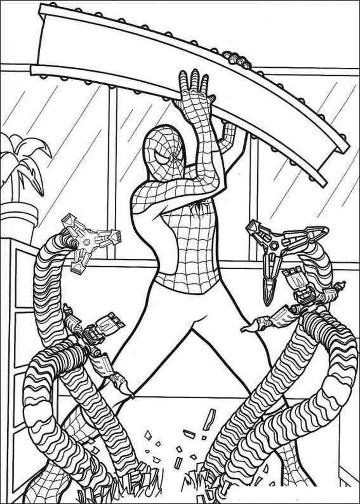 Coloring Pages Spiderman Spiderman Coloring Avengers Coloring Pages Superhero Coloring Pages