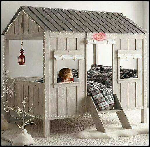 Bed house