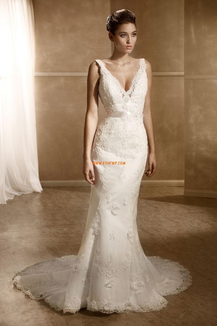 Vår 2014 V-ringad Höst Lyx Bröllopsklänningar