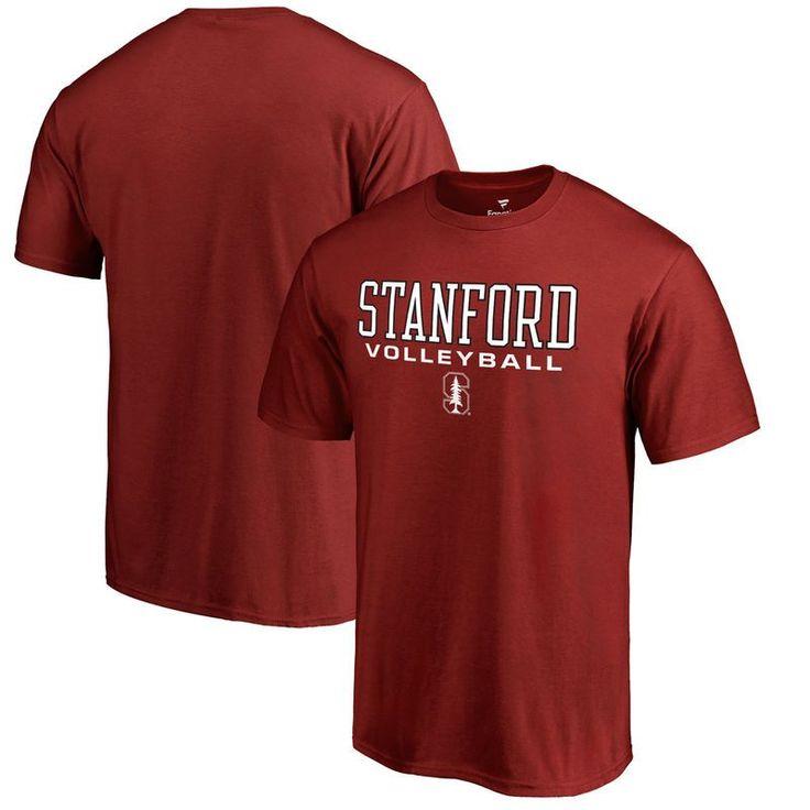 Stanford Cardinal Fanatics Branded True Sport Volleyball Big & Tall T-Shirt - Cardinal