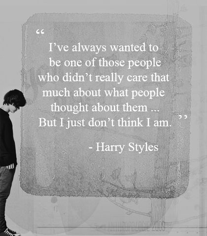 Day Four: This quote made me cry too much. It's so touching, and it describes him perfectly, actually. He's strong even when it seems when he isn't. I love you Harold.