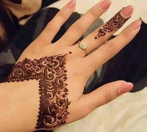 Pin By Sweta Abhay On Mehendi Designs: New Arabic Mehndi Designs For Hands Designs For Beginners
