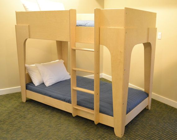 Extra Strong Twin Bunk Bed in XL by BetweenPosts on Etsy