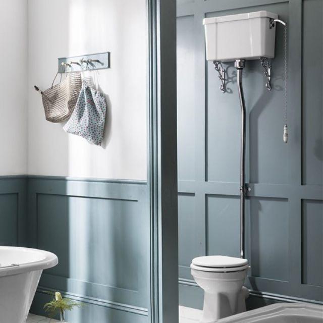 Burlington High Level Toilet Traditional Bathroom Bathroom