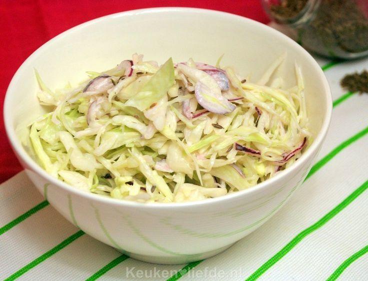 Witte koolsalade - Keuken♥Liefde