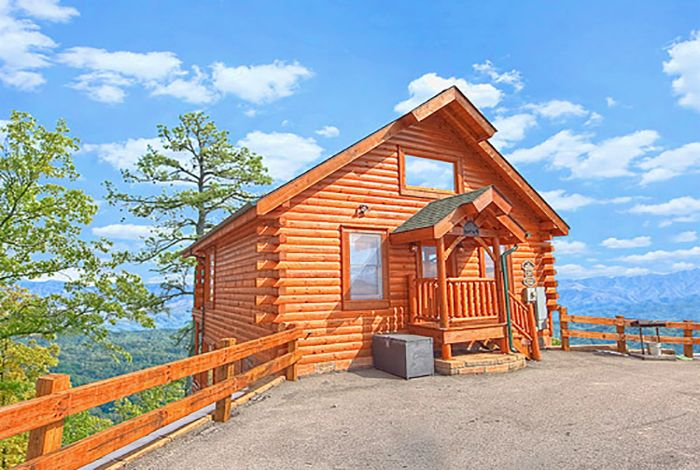 43 best pigeon forge 1 bedroom cabins images on pinterest for Luxury pet friendly cabins pigeon forge