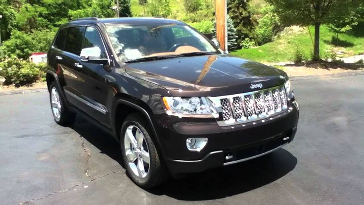 Best Jeep Grand Cherokee Overland 2012 For Sale
