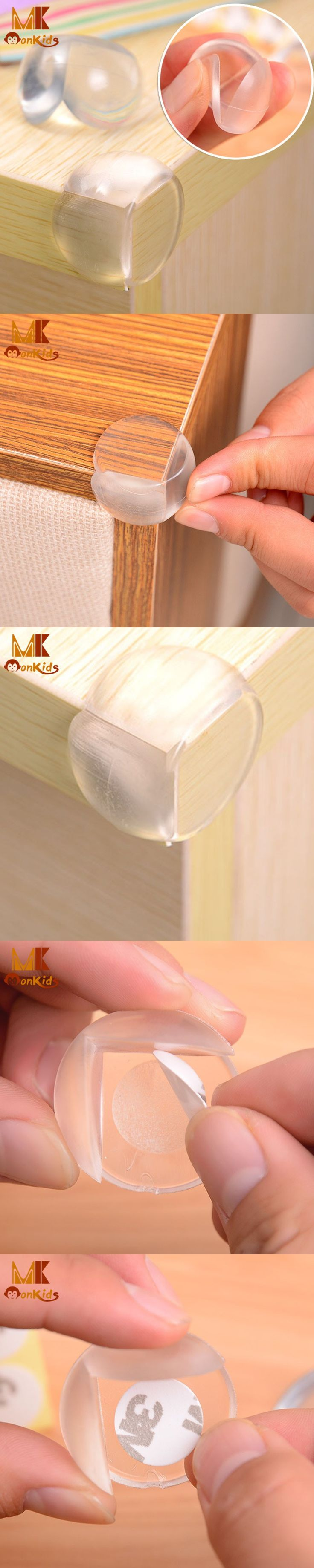 Monkids 5Pcs/Bag Baby Safety Corner Guards Table Protector Edge Child Safety Protector Safety Products Protection Cover $2.84