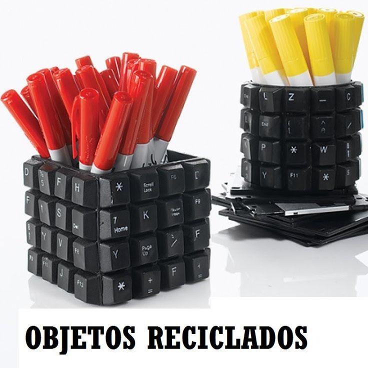 Objetos Reciclados #IDEAS para #RECICLAR objetos o muebles.