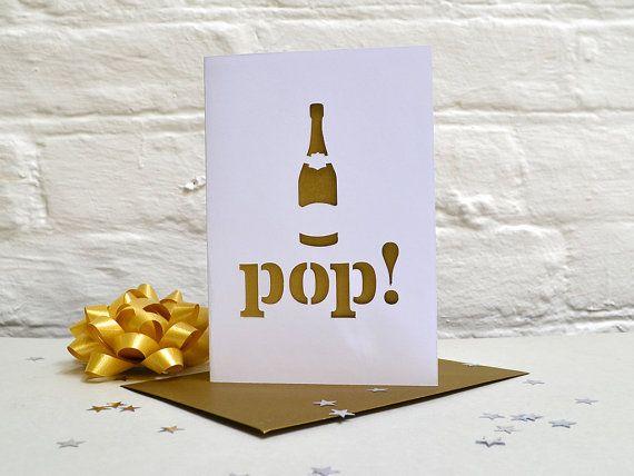 Pop Papercut Card/Wedding
