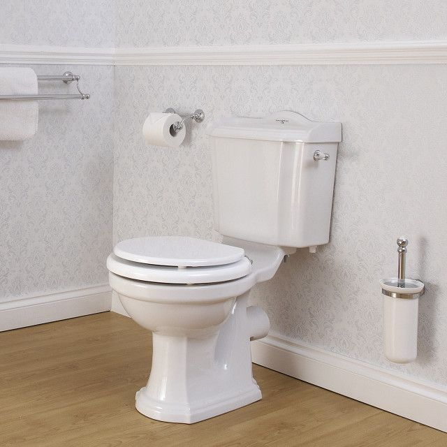 Edwardian close coupled WC - Perrin and Rowe for main bathroom