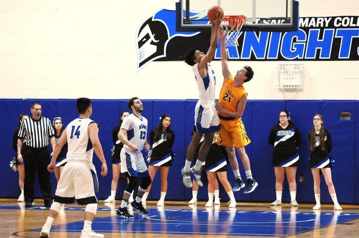 Go Knights! MBB wins 67-65 over St. Joseph College.