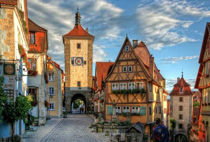 Los pueblos más bonitos de Alemania, en imágenes- ROTHENBURG OB DER TAUBER