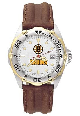 Anderson Jewelry Boston Bruins Women's All-Star Leather Watch - Shop.Canada.NHL.com
