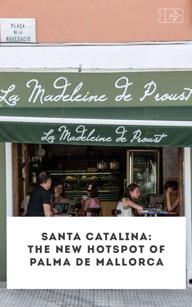 Santa Catalina is the new hotspot with bars, restaurants and clubs in Palma de Mallorca! Find out more on thehappyjetlagger.com #mallorca #palma #travel