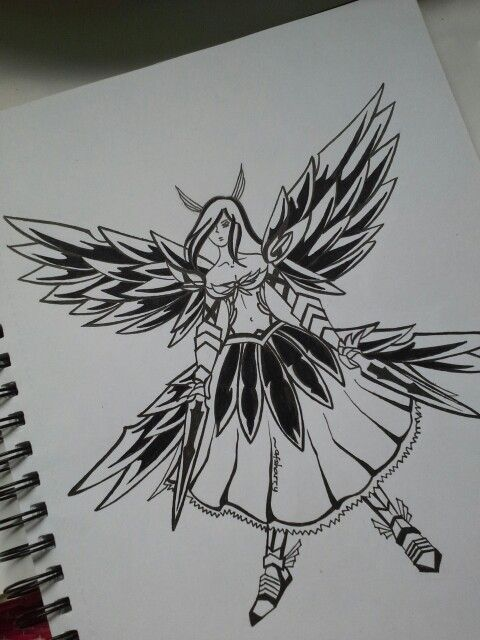 Erza Scarlet from the Fairy Tail anime
