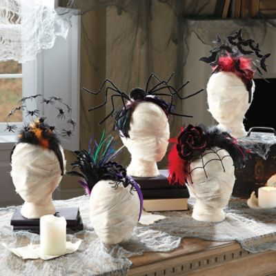I have to remember to check out GrandinRoad.com before Halloween next year....amazing stuff!  Headbands $15