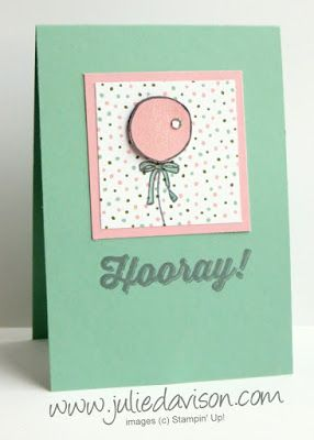 """Honeycomb Happiness (SAB), Perfect Pairings (SAB), Birthday Bouquet DSP, Clear Wink of Stella, 2"""" Circle & 2-3/8"""" Scallop Circle punches - 2016 Sale-a-bration International Stampin' Up! Blog Hop"""