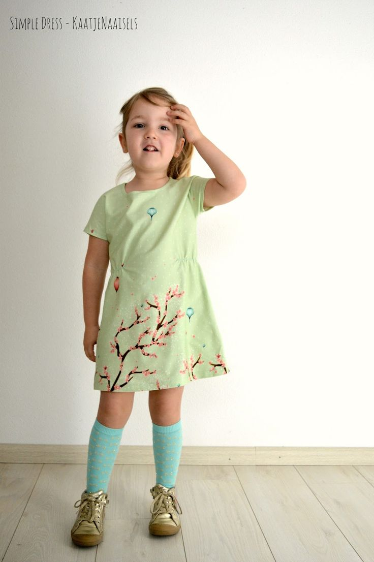 Kaatjenaaisels: I proudly present: De Simple Dress - Een gratis patroon van 2 - 12 jaar
