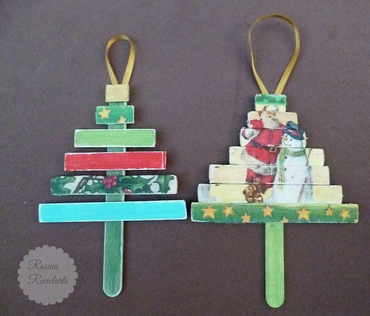 もうすぐクリスマス!クリスマスに飾るオーナメントや小物を手作りしてみませんか?材料は、アイスの棒!おしゃれな物から子供と作れる簡単な物まで、クリスマスを飾る海外の小物アイディアをご紹介します。
