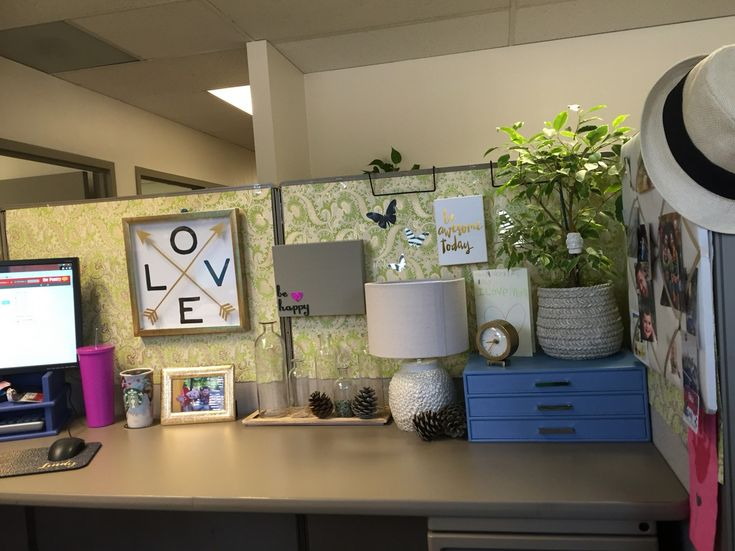 25 cubicle workspace decorating ideas