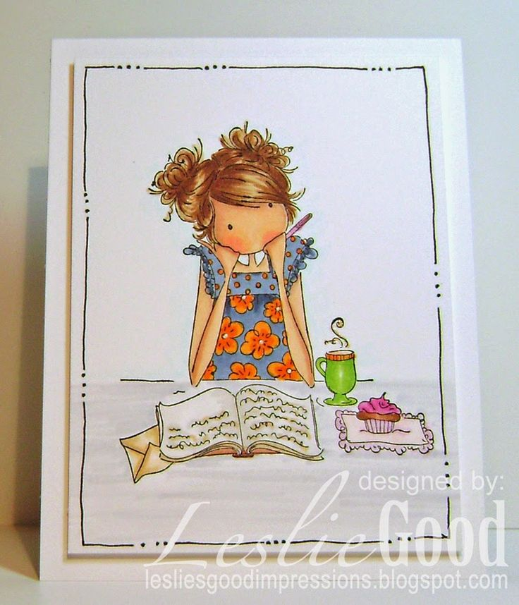 Jayden loves to journal, image Stampingbella