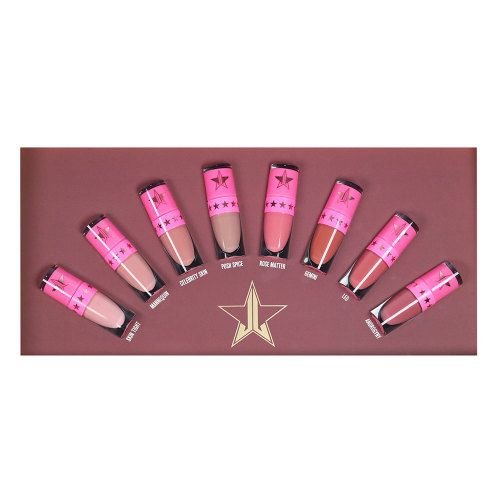 Jeffree Star Cosmetics The Mini Velour Liquid Lipstick Nudes Volume One at Beauty Bay