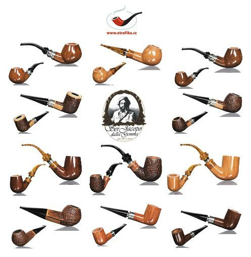 Ser Jacopo pipes on Etrafika.cz