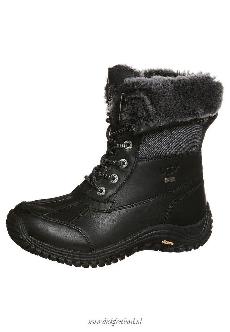 Uggs Kopen ADIRONDACK TWEET -Voor Dames Winter laarzen - 113 zwart ontwerper