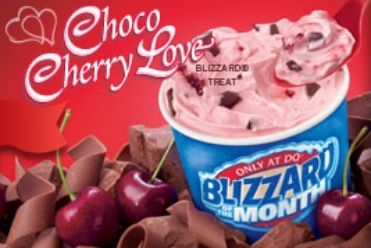 Dairy Queen Restaurant Copycat Recipes: Choco Cherry Love Blizzard