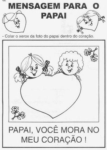 Dia Dos Pais Atividades Escolares Para Imprimir Dia Dos Pais