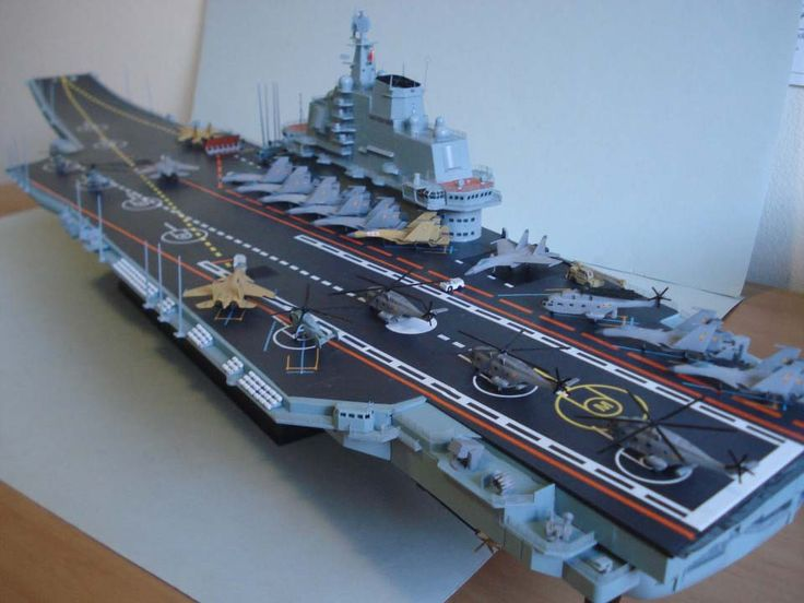 1/350 PLAN CV16 Liaoning (Trumpeter) | Model/ship/plane | Pinterest | Galleries and Ph